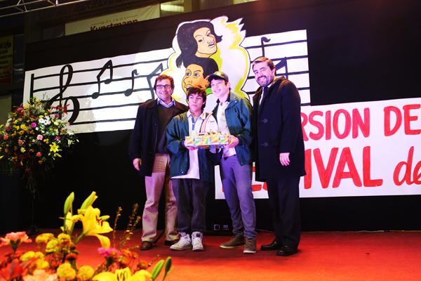 Liceo Politécnico de La Unión resultó ganador de III versión de Festival del Cantar Preventivo