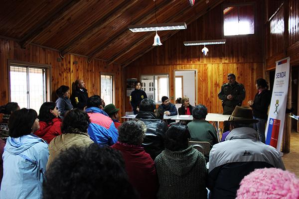 Vecinos de Folleco abordaron temáticas para la prevención del consumo de alcohol y drogas