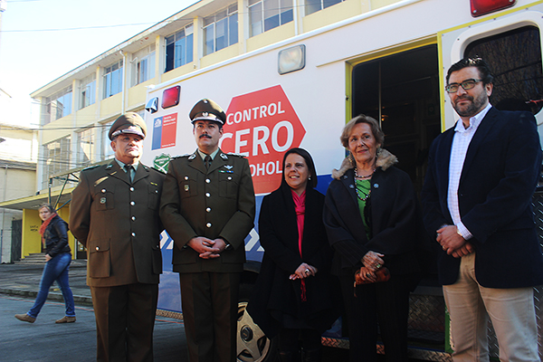 Alcaldesa Astudillo participa de Fonda Itinerante Cero Alcohol organizada por SENDA Previene