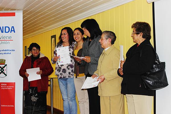 5 MIPEs y Talleres Laborales fueron certificados por SENDA Previene