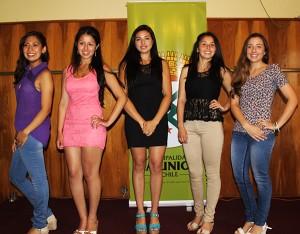 las candidatas 2014