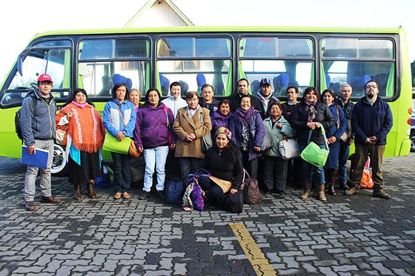 Comunidades indígenas de La Unión realizan gira técnica a La Araucanía