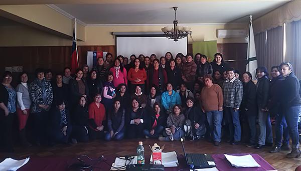 80 mujeres participaron de Talleres de Habilitación Laboral en La Unión