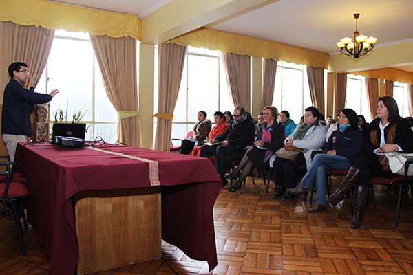 Usuarias del Programa Mujer Trabajadora y Jefa de Hogar del municipio unionino participan de charlas sobre negocios, trabajo y derechos laborales