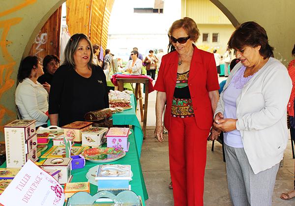 """Mujeres de Programa Municipal de La Unión realizarán Feria """"Manos de Mujer, Sabiduría del Sur"""""""