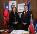Alcaldesa Astudillo saludó a la PDI de La Unión en su nuevo aniversario institucional
