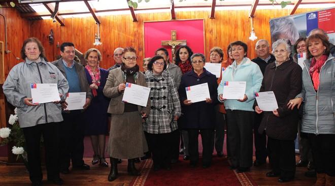 Más de mil adultos mayores del Ranco resultaron beneficiados con fondos SENAMA