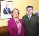 Superintendencia de Educación realiza visita protocolar a municipalidad de La Unión