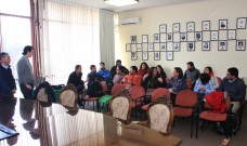 Vecinos del barrio Maitén Sur conocieron maqueta virtual de multicancha Los Cipreses