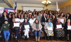 Un centenar de mujeres de La Unión fueron certificadas en cursos impartidos por Fundación PRODEMU