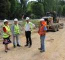 Mejoramiento de Ruta Trumao-Las Trancas en La Unión  presenta un 25% de avance