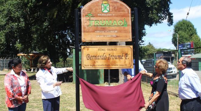 Picnic de Trumao llevará por nombre Bernardo Iroumé