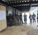 Muestran avance de obra de reposición de jardín infantil Manitos Contentas