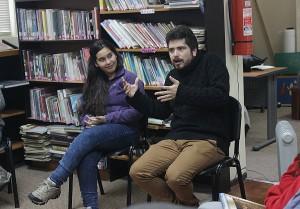 Foto: Actividad de Cuenta Cuentos realizada en la Biblioteca Municipal