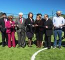 Inauguran nueva cancha de pasto sintético en sector Francisco Aguirre de La Unión