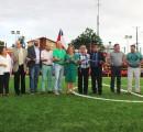 Alcaldesa inaugura junto a vecinos moderna cancha de pasto sintético en población El Manzanal de La Unión