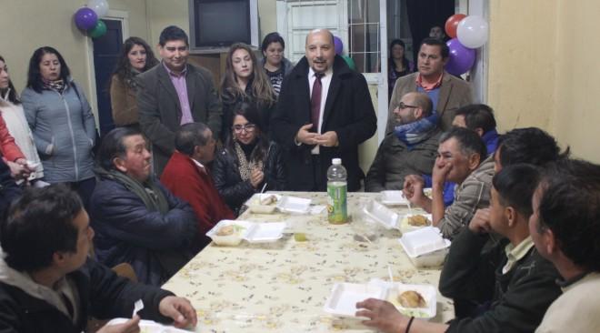"""Con la visita de autoridades y funcionarios municipales, se dio el """"vamos"""" oficial a albergue para personas en situación de calle"""