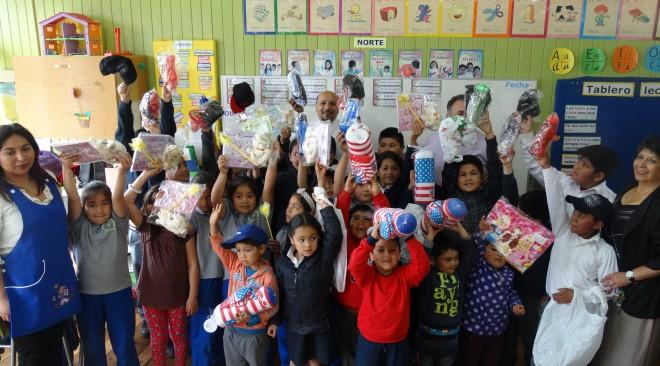 3 mil niños de la comuna recibirán regalos de navidad gracias al apoyo del Municipio de La Unión
