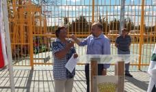Alcalde inaugura Mini cancha y espacio peatonal en sector Corvi