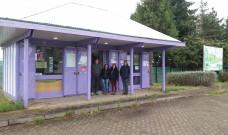 Municipio renovó caseta turística ubicada en cruce Los Tambores