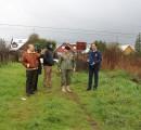 "Alcalde realiza visita a terrenos de ""El Chilenito"", con miras a lograr paño que sería destinado viviendas"