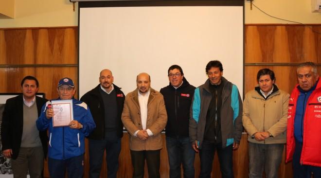 Ayer se dio inicio a curso de árbitros y técnicos locales apoyado por el Municipio y desarrollado por la ANFA