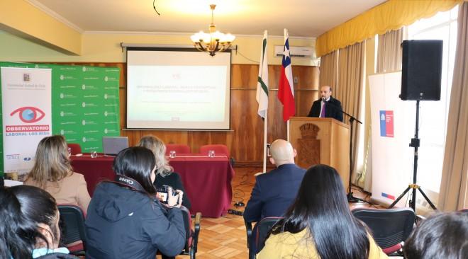 Seminario Laboral se llevó a cabo en Salón Consistorial del Municipio