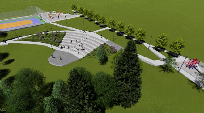 Construcción de Plaza de Conexión Vecinal y Parque Vecinal comenzaría en agosto